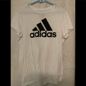 White Adidas Shirt